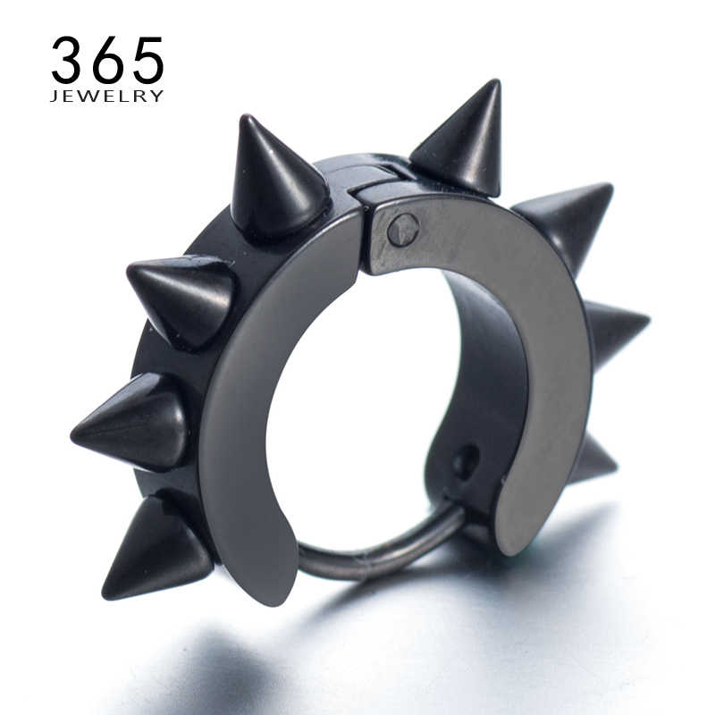 476513af6 Detail Feedback Questions about Fashion Mens Jewelry Retro Rock Punk  Stainless Steel Stud Earrings Gothic Nail Taper Spike Ear Studs Earrings  for Men Women ...