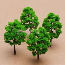 10pc New SCALE Model Trees Train Railway Building Park Street Scenery Layout