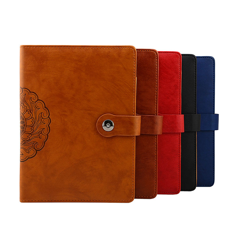 RuiZe Vintage notebook journal B5 leather agenda organizer office supplies stationery planner book 6 ring binder spiral notebook недорого