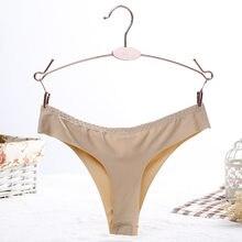a5fbf15b90 2017 New Brand Quality Panties Women Seamless Underwear Women Thong Sexy  Cute Thong G String Briefs