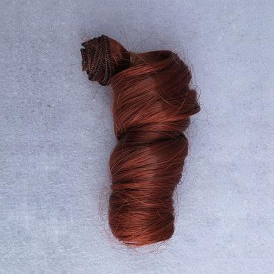 1 st 15cm * 100cm DIY Hög temperatur Curly hår för docka 1/3 1/4 - Dockor och tillbehör - Foto 2
