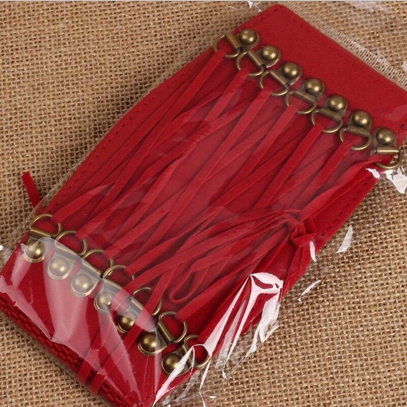 Hot Sale Fashion Women Belts Trench Velvet Retro Rivet Tassel Wide Cummerbund Strap Belt Waist Female Womens Accessories LM58 4