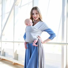 Baby Carrier Wrap Stretchy Indant Carrier Hands Free Ergo Sling for Newborns Comfortable Soft Nursing Cover Up to 22kg Children