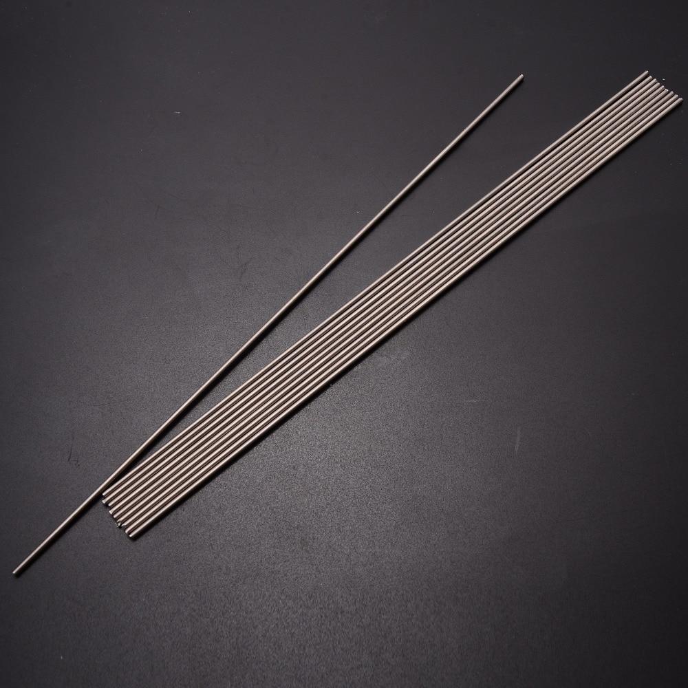 Length 25cm 2PCS Titanium Ti Grade 5 Gr.5 GR5 Metal Rod Diameter 5mm