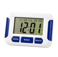 Alarm Clock 5 Groups Noisy Bell 12 24 Hours Countdown Multi Kitchen Home House Lab Library