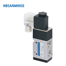 NBSANMINSE 3V310 3V320 Series G3/8  Solenoid Valve Two Position Three Way Pneumatic Valve Single Double Coil  AIRTAC Type