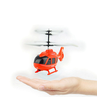 Upgrade Infrared Induction Flying Toys Remote Control RC Helicopter Floating Toys Kids Flying Plane Gifts 2017