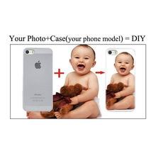 Custom DIY LOGO Photo Case for Samsung Galaxy S2 S3 S4 S5 S6 S7 S8 S9 Plus Mini Edge Plus Soft TPU Back Cover Personalized Funda цена