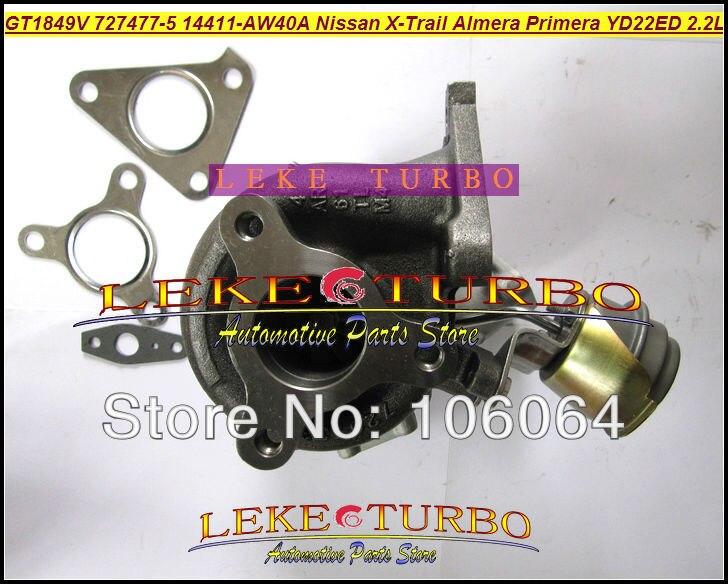 Turbo GT1849V 727477-5006S 727477-5007S 727477 Ölgekühlter - Autoteile - Foto 5