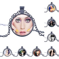 Trendy Sexy Katy Perry Necklace Katy Perry Singer Pendant Bridesmaid Wedding Gift Party Jewelry Christmas Day