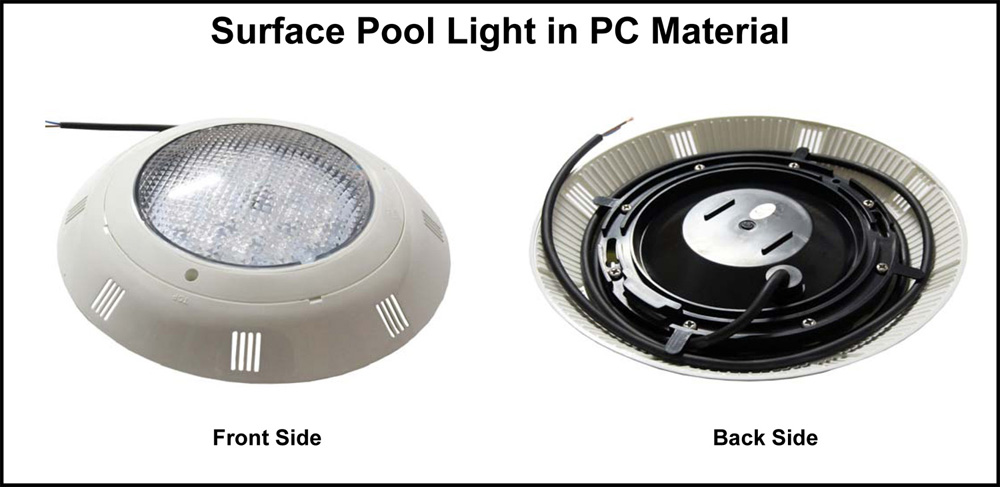 Surface Pool Light in PC Material
