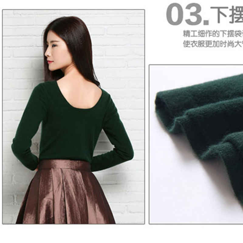 2019 Winter New Women Sweater Solid Color Cashmere Sweaters Hot Sale Fashion Lady Pullovers Free Shipping Girls jumper