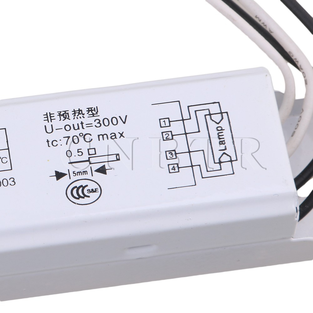 36W AC 220V Fluorescent Lamps Electrical Ballast for H Tube Dome Aluminum Light