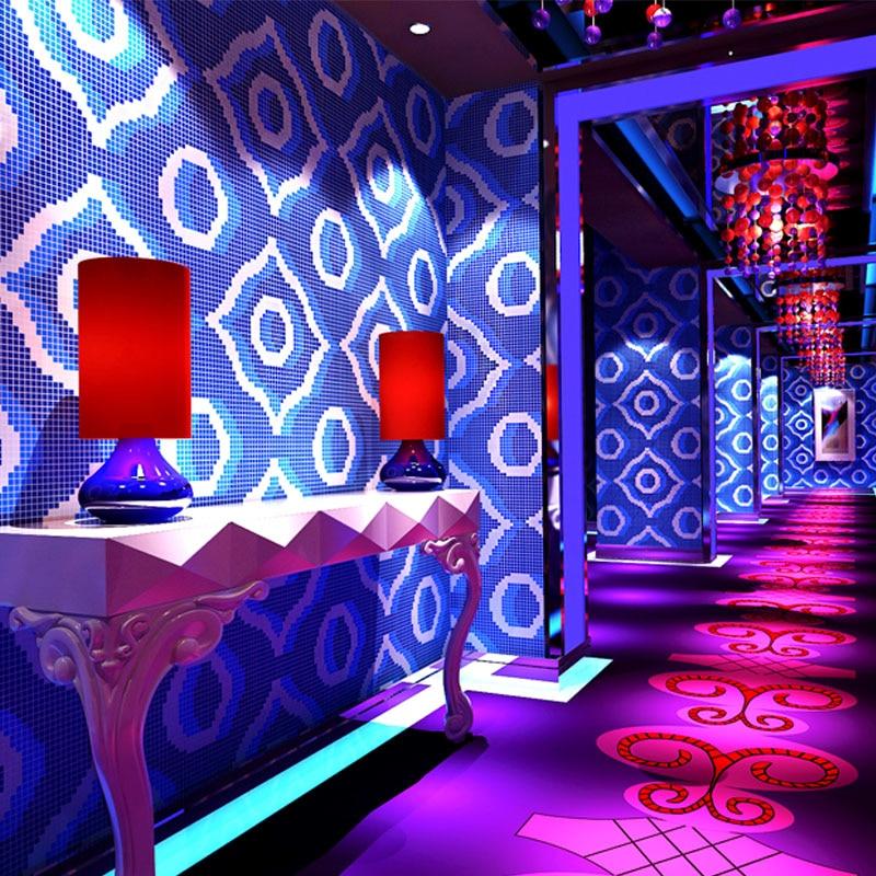 beibehang 3d gold foil wallpaper flash reflective KTV silver golden golden ceiling mosaic hotel bar wallpaper papel de parede