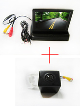 Color CCD Car Rear View Camera for Mercedes-Benz B200 A-class W169 B-Class T245 with 4.3 Inch foldable LCD TFT Monitor