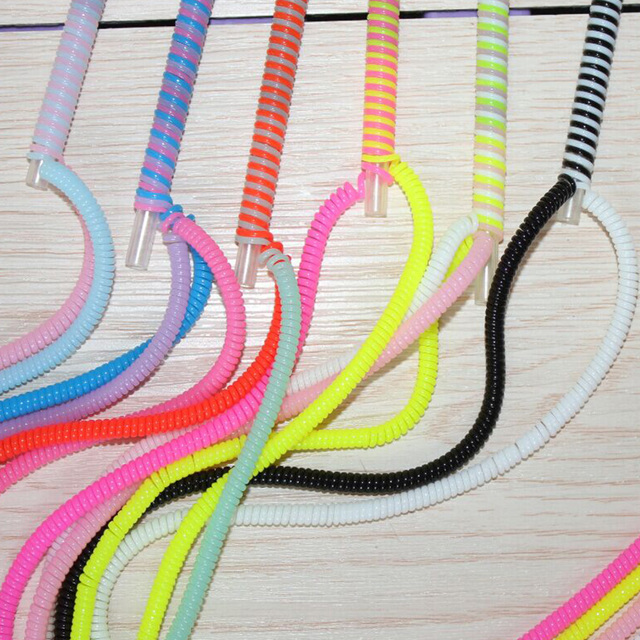 10pcs Lot Diy Data Cable Winder Charging Cable Saver Cord Protector