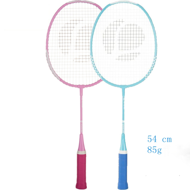 free shipping badminton rackets for teenagers  54 cm with 85G