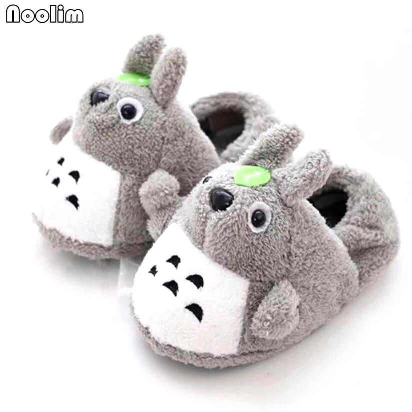 f4199bfe9731 Winter Super Animal Funny Shoes For Men and Women Warm Soft Bottom  Home House Indoor Floor Totoro