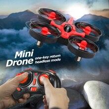 цена на Mini 2.4G 4CH Quadcopter RC Drone 6 Axis Headless Mode RC Quadcopter RTF LED Light Eachine E010 JJRC touH36 xmas gifts for kids