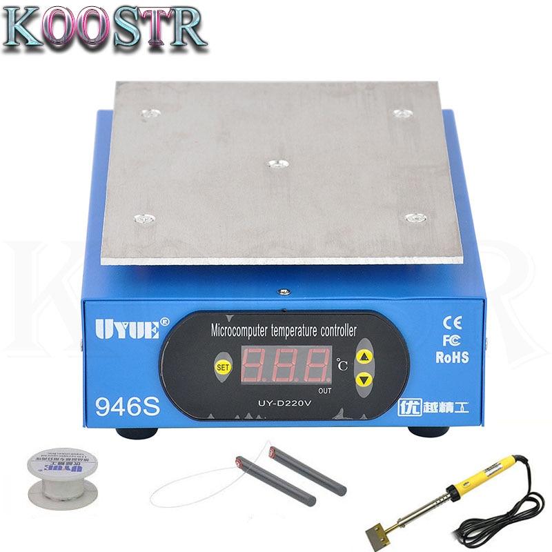 UYUE Preheat Station 946s 220V 400W Heating Plate For Phone LCD Screen Separator Machine Preheater Digital