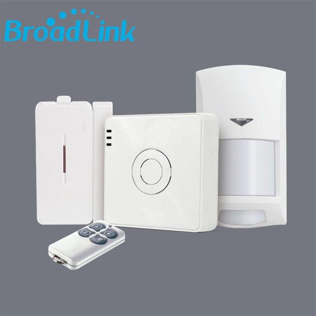 New Original BroadLink S2 Alarm System Home Security 433 Wireless Door  Contact Sensor PIR Motion Detector