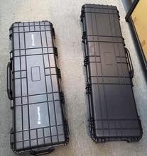 long Tool case gun case large toolbox Impact resistant sealed waterproof case equipment  camera gun case with pre-cut foam