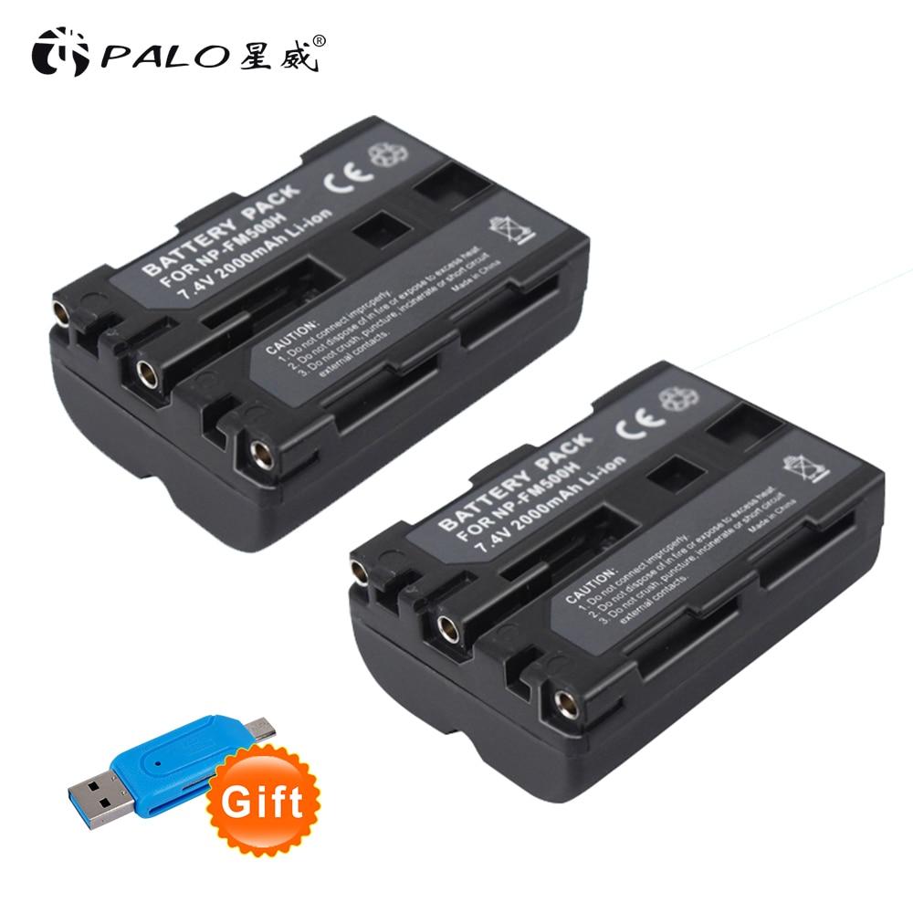 Schlussverkauf Palo 2 Stücke Batterie Np-fm500h Np Fm500h Wiederaufladbare Kamera Batterie Für Sony A57 A65 A77 A99 A350 A550 A580 A900 Digitale Batterie Unterhaltungselektronik