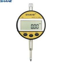 """Shahe электронный цифровой индикатор метрический/дюймовый диапазон 0-12,7 мм/0,"""" циферблат индикатор с розничной коробкой измерительный инструмент"""