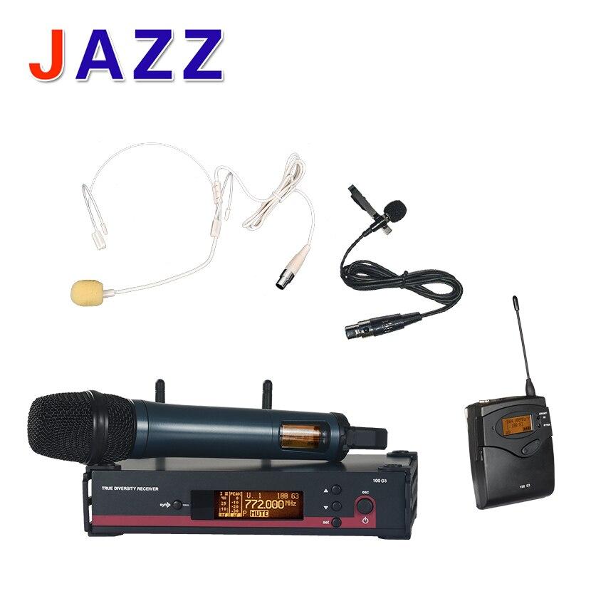 High quality EW135G3 Wireless Systems Superman sound microphone concert KTV karaoke OK DJ Wireless Microphone
