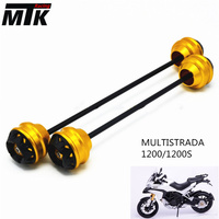 MTKRACING for Ducati MULTISTRADA 1200/1200S 2010 2015 CNC Modified Motorcycle Front wheel drop ball / shock absorber