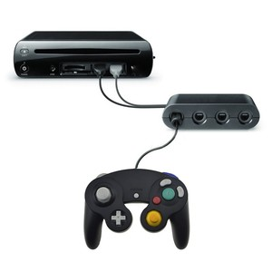 Image 1 - 2 In 1 GameCube Controller Adapter Converter For Wii U PC For WiiU For Nintend Switch For NS