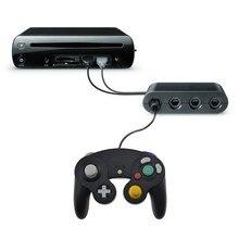 Adaptador de controlador de jogos 2 em 1, conversor para wii u pc para wiiu para nintendo switch ns