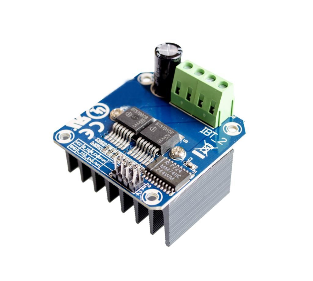 10pcs lot High Power Motor Driver Module BTS7960 43A Intelligent Vehicle Robot Car