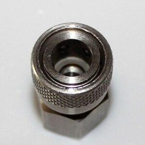 Image 4 - ペイントボールエアガン PCP AK47 エアガンステンレス鋼女性クイックディスコネクトフィット 8 ミリメートル 1/8 NPT M10 * 1