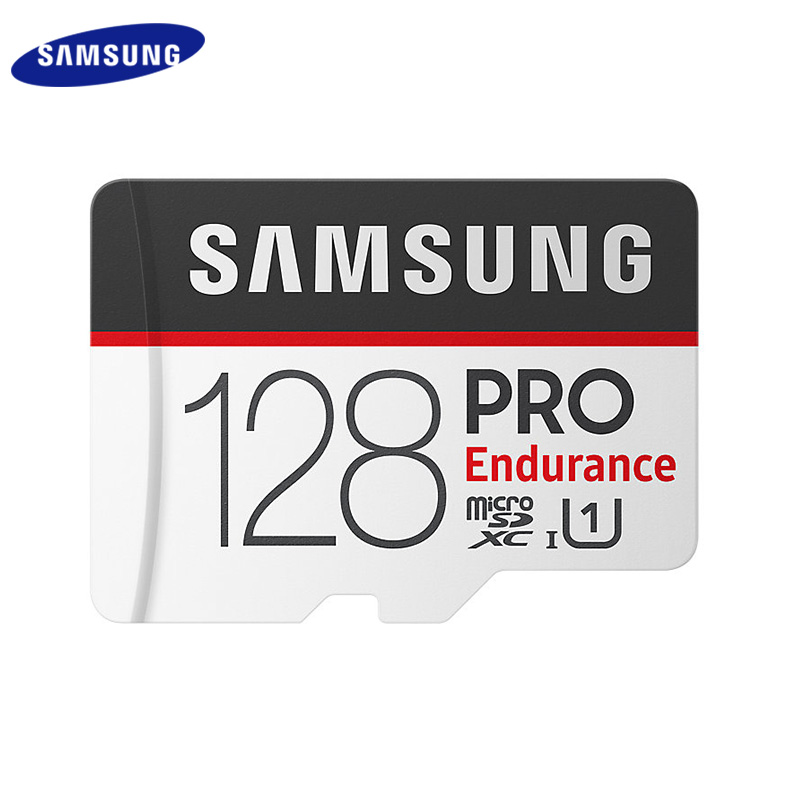 <font><b>SAMSUNG</b></font> <font><b>Pro</b></font> Endurance <font><b>Micro</b></font> <font><b>SD</b></font> Card Class 10 Memory Card With Adapter 32GB 64GB 128GB SDHC SDXC TF Card Flash Card image