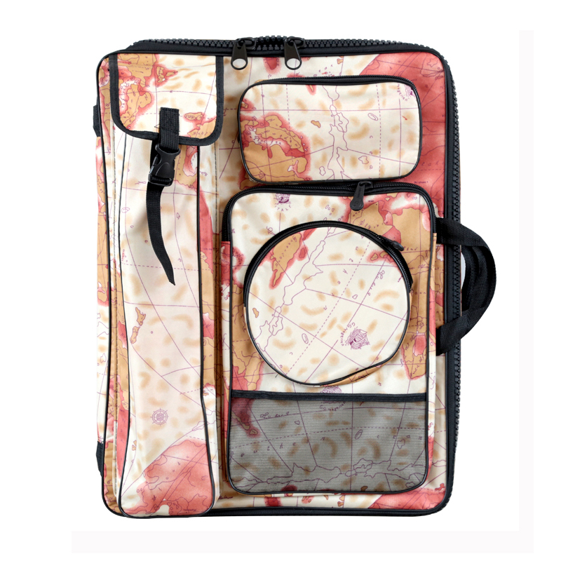 цена на Transon Art Storage Bag ,Sketchpad Bag ,Drawing Sketch Board Case Painting Bag Backpack Bag Travel Art Set
