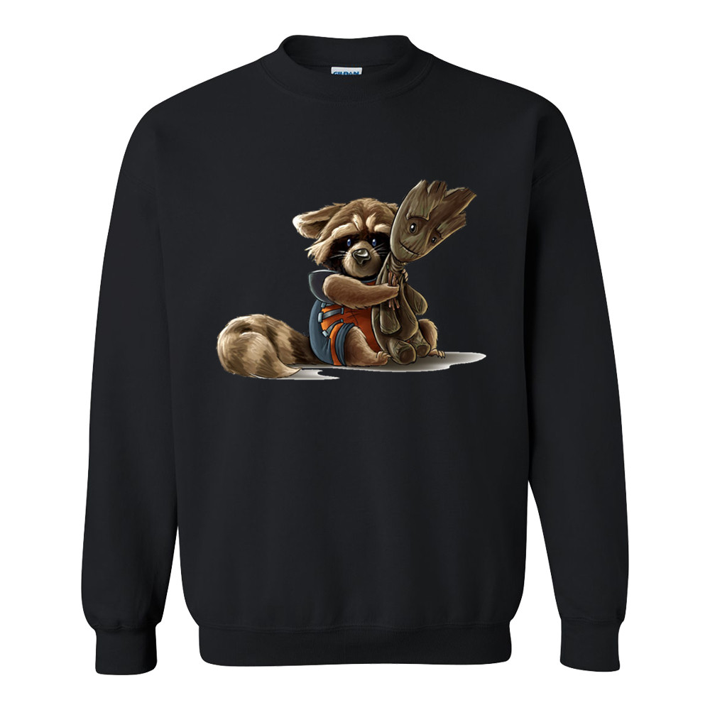 New Brand Sweatshirt Mens guardians of the galaxy Rocket Raccoon Hoodies Men Hip Hop Fashion Hoody Sportswear Clothing
