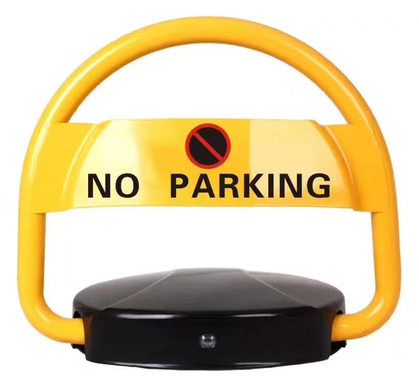 (NO Battery Included)Electronic Private Parking Space Lock Replaceable Battery Parking Space Saver Lock Automatic Barrier Alarm