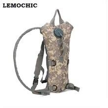 Botella de la bolsa táctica kamp malzemeleri hidratación bolsa de agua mochila de Alta calidad acampar camelback bicicleta mochila de Hidratación