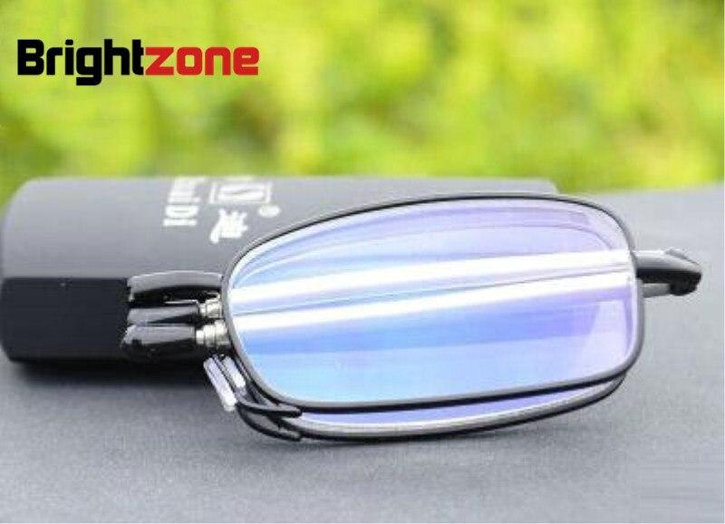 100% QualitäT Deutschland Importiert Edelstahl Folding Presbyopie Brille Lesebrille Ultraleichte Harz Beschichtete Linsen Hc Anti-müdigkeit