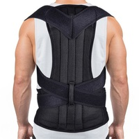 Health Care Upper Back Posture Corrector Support Belt Back Slouching Corrective Posture Correction Spine Braces Supports