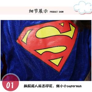 Image 5 - ילדים סופר בנות שמלת קוספליי תלבושות סופרמן סופרוומן חצאית חליפת נעלי סופר hero פלא ילדי בנות סופר Hero בגדים
