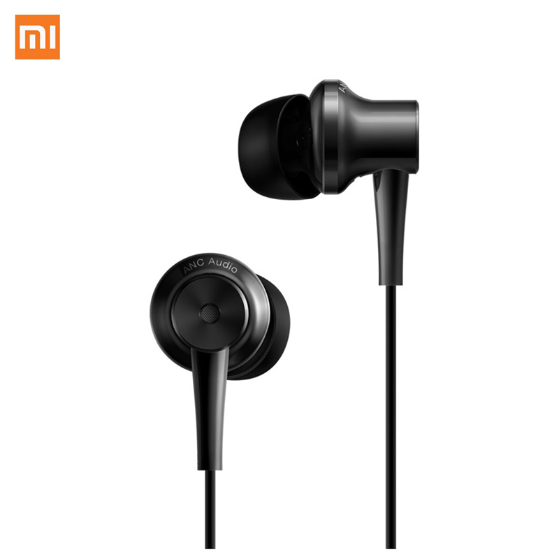 Xiaomi ANC Earphones Hybrid Type-C In-Ear Earphone Charging-Free Mic Line Control for Xiaomi Mi6 MIX Note2 Mi5s /Plus Mi5 new original xiaomi mi iv hybrid in ear earphone pro earphones mi piston 4 dual drivers wired control with mic for android ios