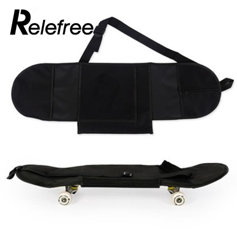 Skateboard Backpack Carry Bag Practical Black Skate Board Bag Portable Sporting Skateboarding Cover Longboard Carrying Backpack