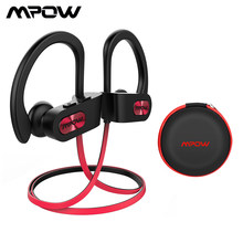 Mpow Flame 088A Bluetooth Headphone IPX7 Waterproof Sport Running Wireless Headset Sports Earphones Earbuds With Mic for iPhone(China)