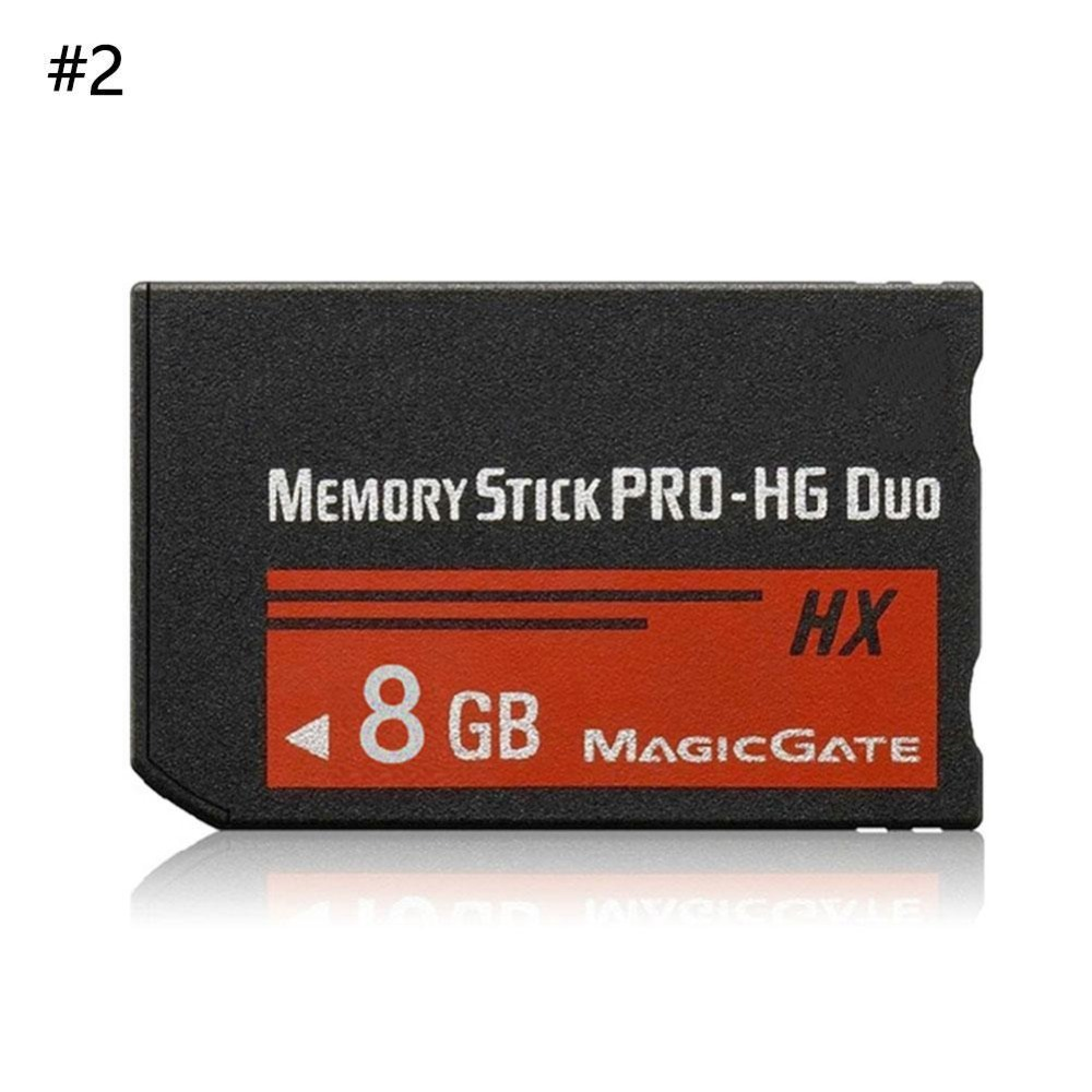 10 pcs Memory Stick MS Pro Duo Memory Card For Sony 8GB 16GB 32GB 64GB PSP 1000/2000/3000 image