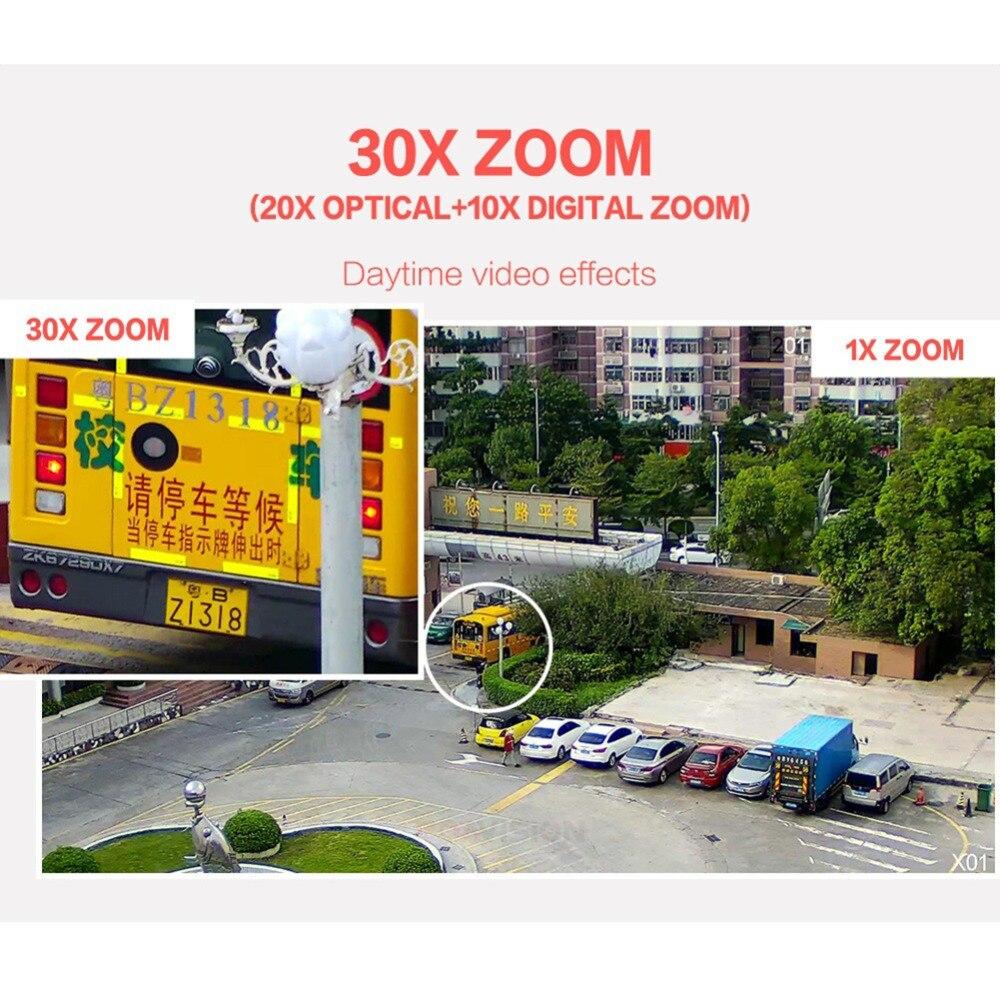 4.5 pouces 1080 P AHD PTZ caméra dôme 2MP 30X Zoom IR 50 M sécurité CCTV AHD caméra extérieure étanche caméra de Surveillance vidéo - 5