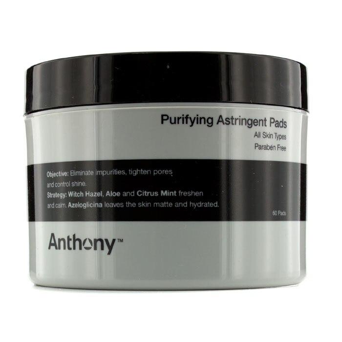 Anthony - Logistics For Men Purifying Astringent Pads (For All Skin Types) пилинг gigi peeling ptca for all skin types