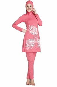 Image 2 - Wholesale muslim swimwear for women 12 pcs/lot islamic swimsuits from china DHL