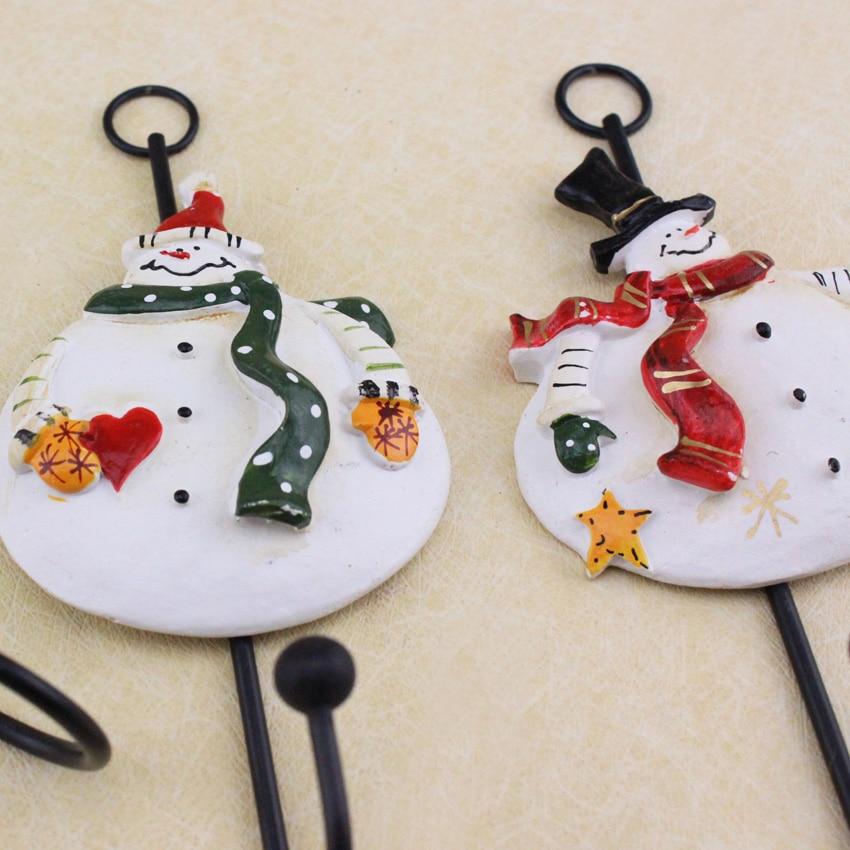 3 Stks Kerstversiering Voor Thuis Cartoon Kerstmissneeuwman Hars